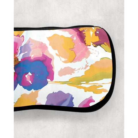 abstract makeup bag
