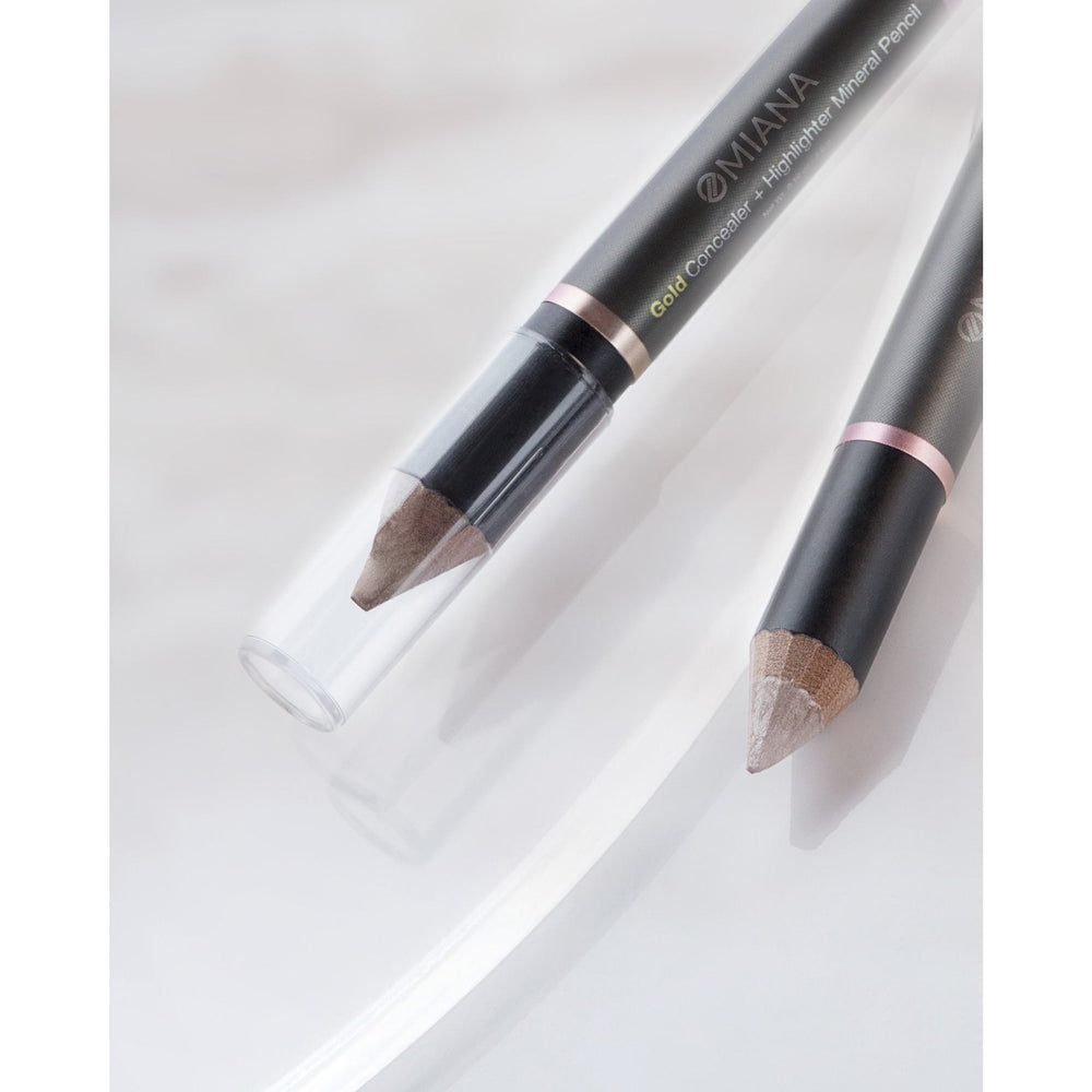 Chubby Mineral Highlight-and-Conceal Pencils