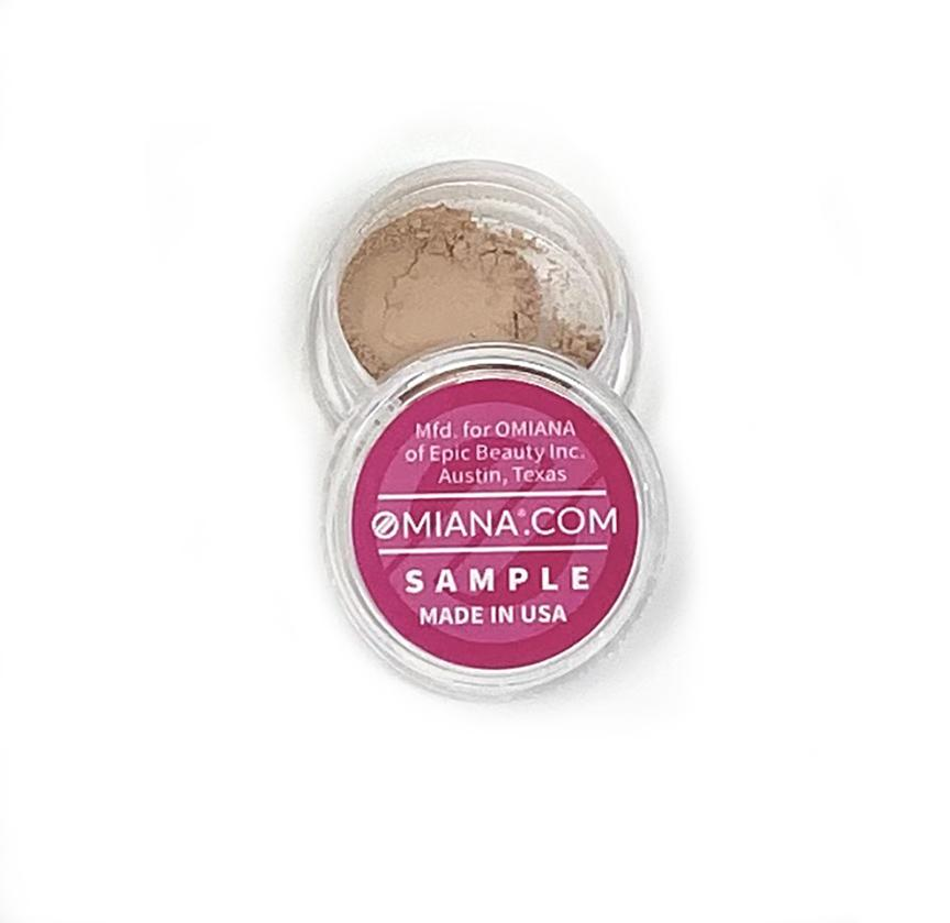 Omiana Natural Mineral Makeup Sample