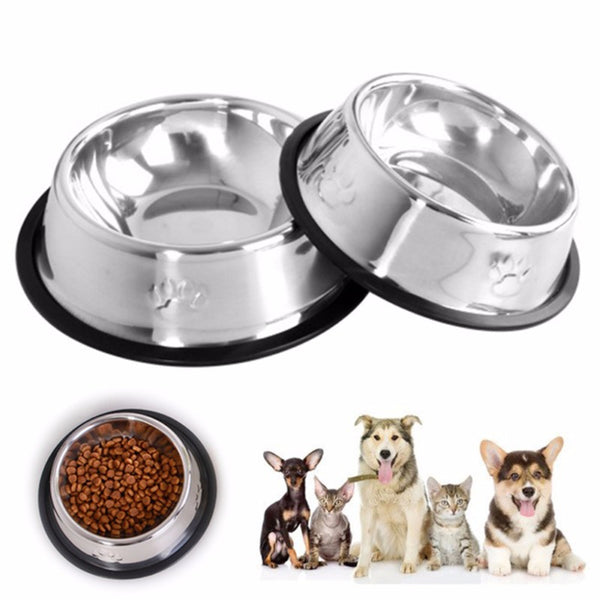 Dog Cat Bowls Feeding Feeder Water Bowl - ourfurryfriendshub