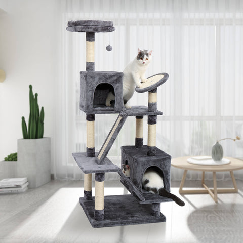Cat Condo Toy Scratching Post  Climbing Tree - ourfurryfriendshub