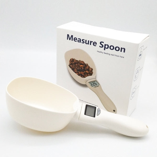 Electronic  Pet Food Measuring Spoon Digital Display 250ml - ourfurryfriendshub