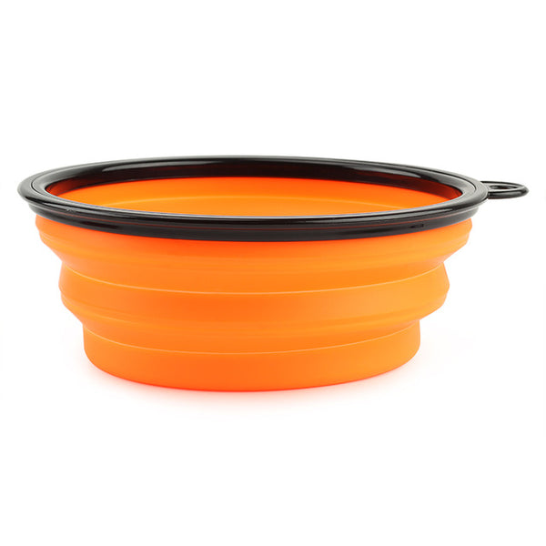 Large Silicone Folding Portable Bowl Food Drink - ourfurryfriendshub