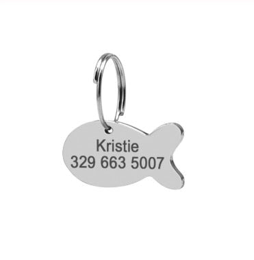 Pets  Quick Release  Nylon Dog Collars Engraved Tags - ourfurryfriendshub