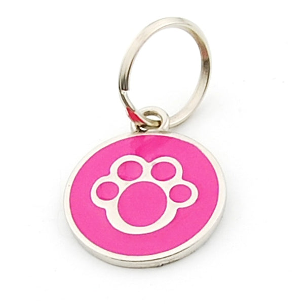 Pet Dog Cat collar Accessories Decoration Pet ID Dog Tags Collars Cat Tag Nameplate Anti-lost Pendant Metal Keyring - ourfurryfriendshub