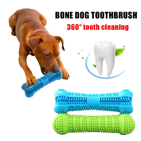 Dog Bone Shape Teeth Cleaning Chew Toy - ourfurryfriendshub