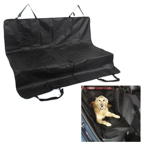 Waterproof Rear Back Car Seat Pets Mat - ourfurryfriendshub