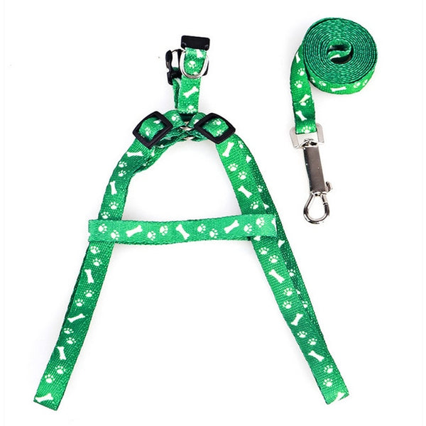 Pet Dog Harness Adjustable Pet Leashes Puppy Collar for Small Dogs Cat Harness Medium Dog Accessories Outdoor Walk Arnes Perro - ourfurryfriendshub