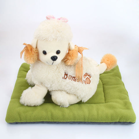 Washable Soft Bed Cushion  For Pets M Size - ourfurryfriendshub