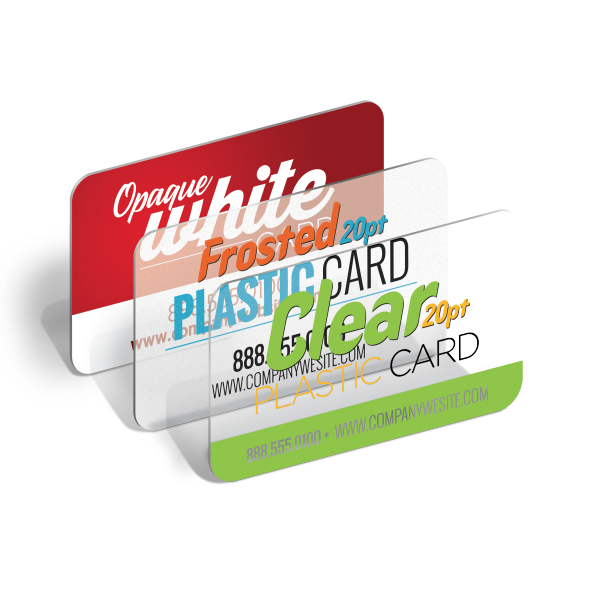 Clear Plastic Business Cards