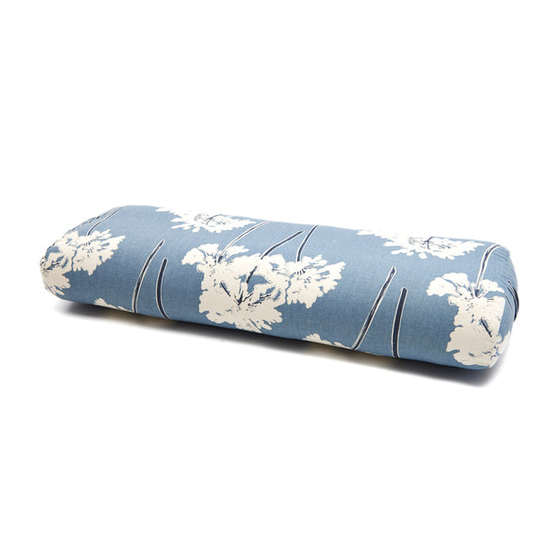 The Stress Absorber Bolster - Blue Floral
