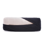 The Stress Absorber Bolster - Charcoal Black Organic