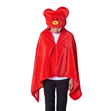 Load image into Gallery viewer, BT21 Tata Hoodie Blanket