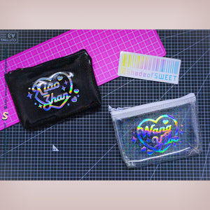 (Free Photocard 3ea+Photo Locket Keyring 1ea) CREATE YOUR OWN Jelly Zip Hologram Wallet