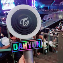 Load image into Gallery viewer, Custom Hologram Lightstick Nametag!
