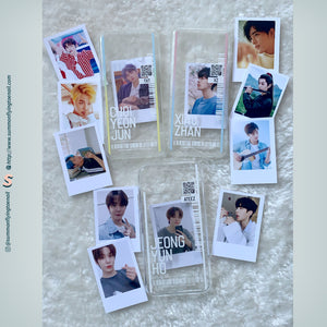 (FREE Photocard 4ea) Custom Kpop Photocard Phonecase for iPhone and Androids