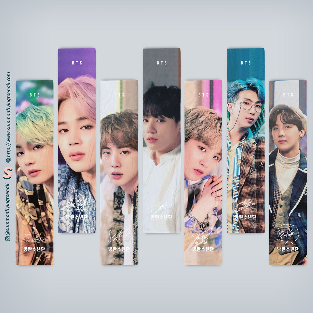 BTS Bangtan Boys 85x20cm Fabric Cheering Slogan