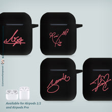 Load image into Gallery viewer, Blackpink Signature AirPods 1 AirPods 2 AirPods Pro Case
