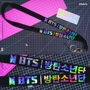 CREATE YOUR OWN Custom Hologram Lightstick Lanyard