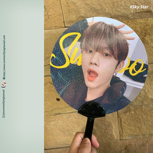 CREATE YOUR OWN Custom Image Picket Hand Fan