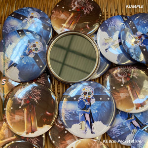 Custom Pocket Mirror