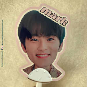 Custom Big Head Image Picket