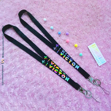 Load image into Gallery viewer, CREATE YOUR OWN Custom Hologram Lightstick Lanyard