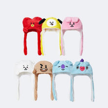 Load image into Gallery viewer, BT21 19 Plush Action Hat