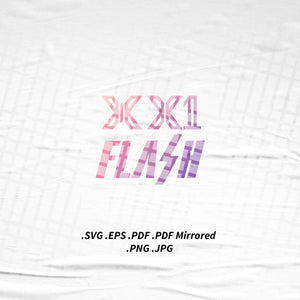 (INSTANT DOWNLOAD) X1 Kpop Logo SVG Png Eps Pdf Vector Cutting File for Cricut Cameo Silhouette