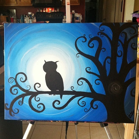 Night Owl | 24 x 18