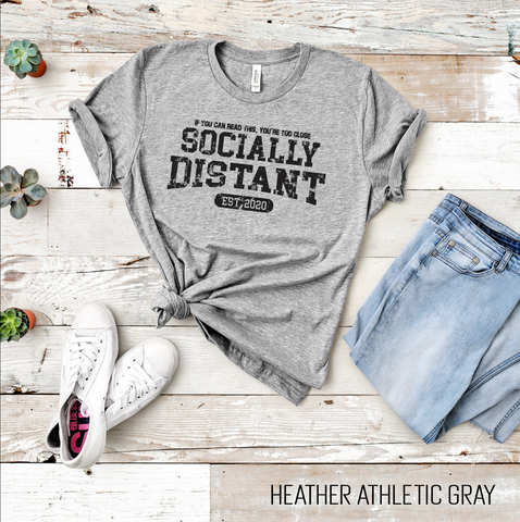 Socially Distant Graphic Tee