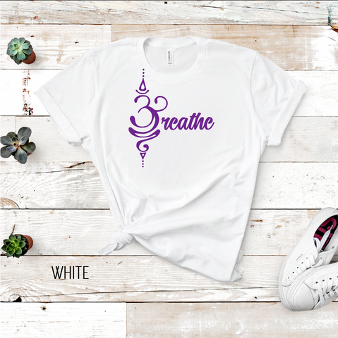 Breathe (Aum) Graphic Tee
