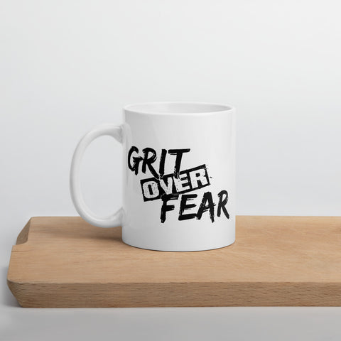 Grit over Fear Mug