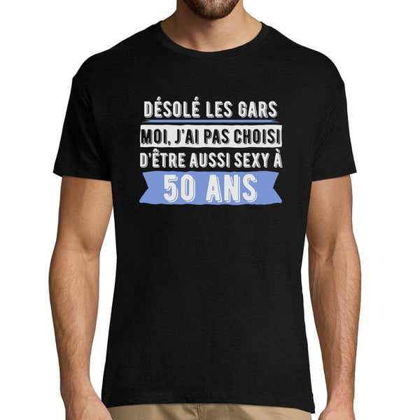 T-shirt Homme 50 ans Sexy - Planetee