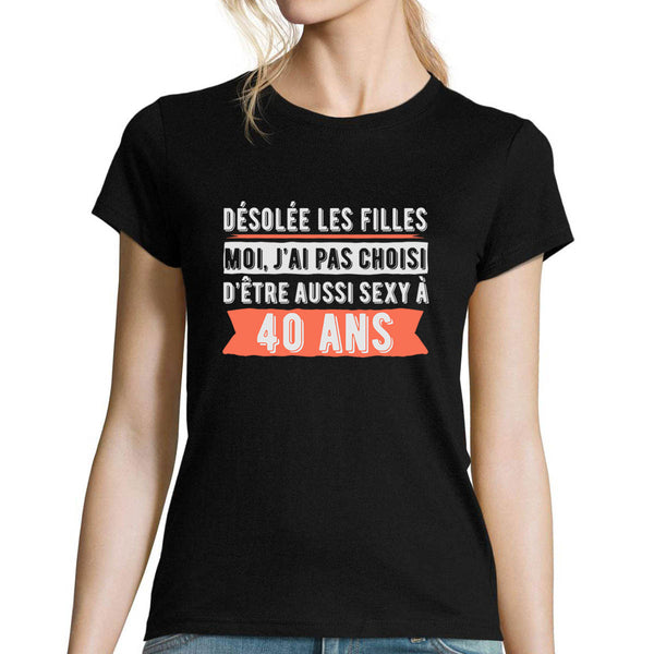 T-shirt femme 40 ans Sexy - Planetee