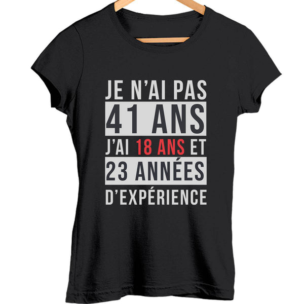 T-shirt Femme 41 ans - Planetee