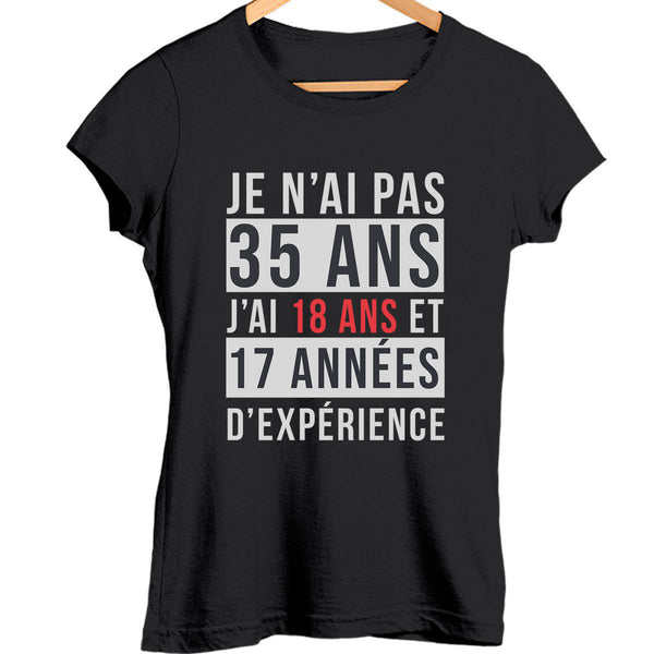 T-shirt Femme 35 ans - Planetee