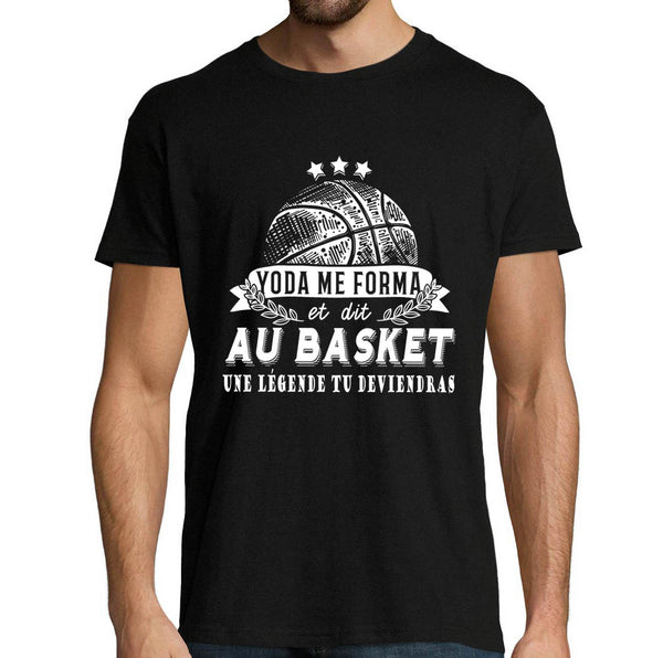 T-shirt Homme Basketball Yoda Star Wars - Planetee