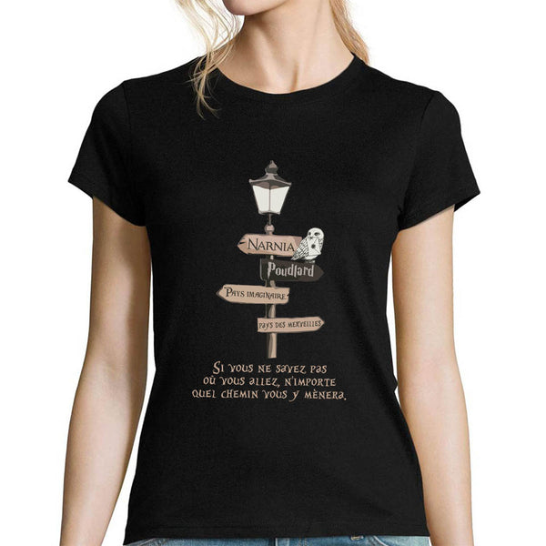 T-shirt femme Narnia - Planetee