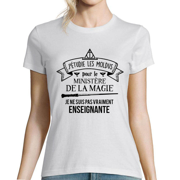 T-shirt femme Enseignante Harry Potter - Planetee