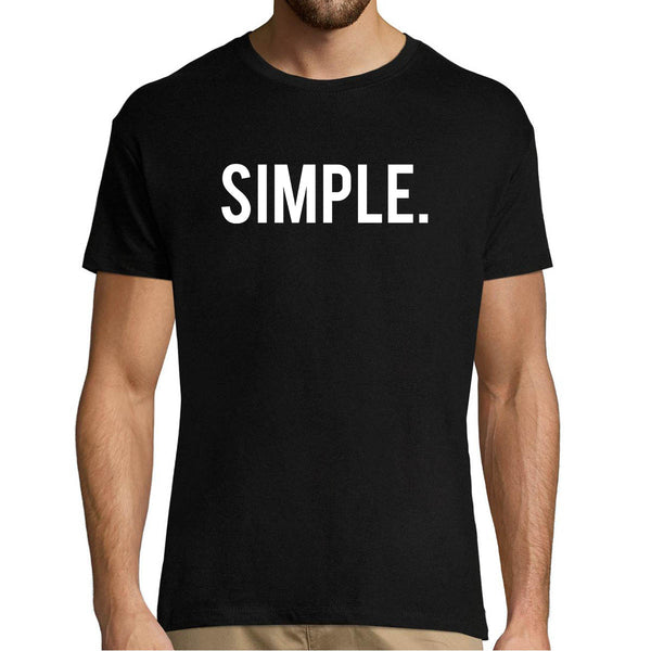 T-shirt homme Orelsan Simple - Planetee