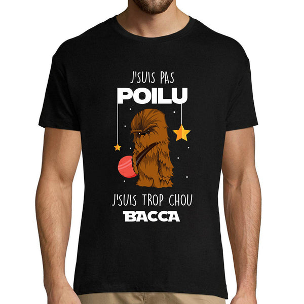 T-shirt homme Chewbacca Poilu Chou Bacca - Planetee