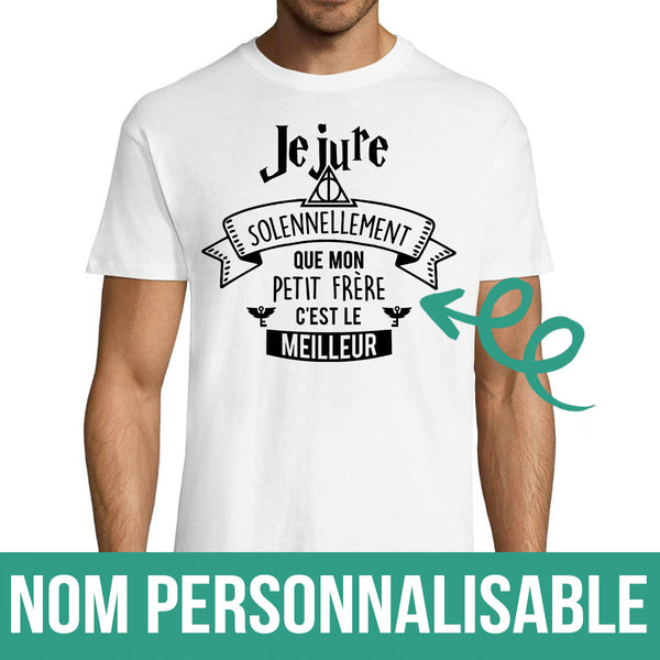 T-shirt Homme Famille Harry Potter Personnalisable - Planetee