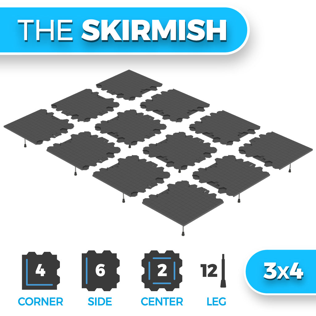 The Skirmish - 3x4  (Shipping January 2021)