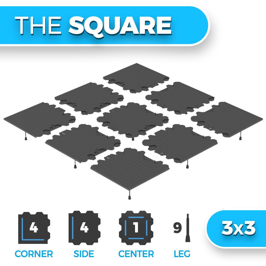 The Square - 3x3  (Shipping March 2021)