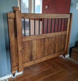 Sliding Gate Option (custom only for our gates) - Oak Grove Woodworks