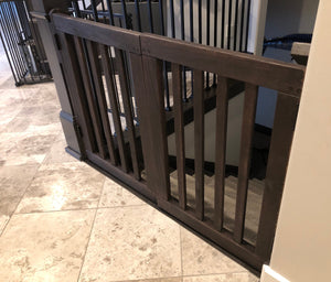 Wooden Slat Gate - Oak Grove Woodworks