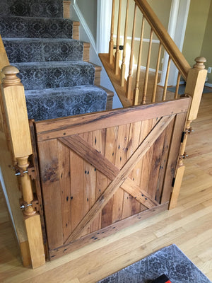 Barn Door Gate - Oak Grove Woodworks