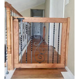 Scroll Gate - Oak Grove Woodworks