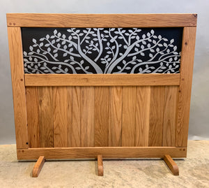 Laser Cut Metal Insert Gate - Oak Grove Woodworks